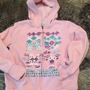 Girls Roxy Zip-Up Pink Hoodie!!!